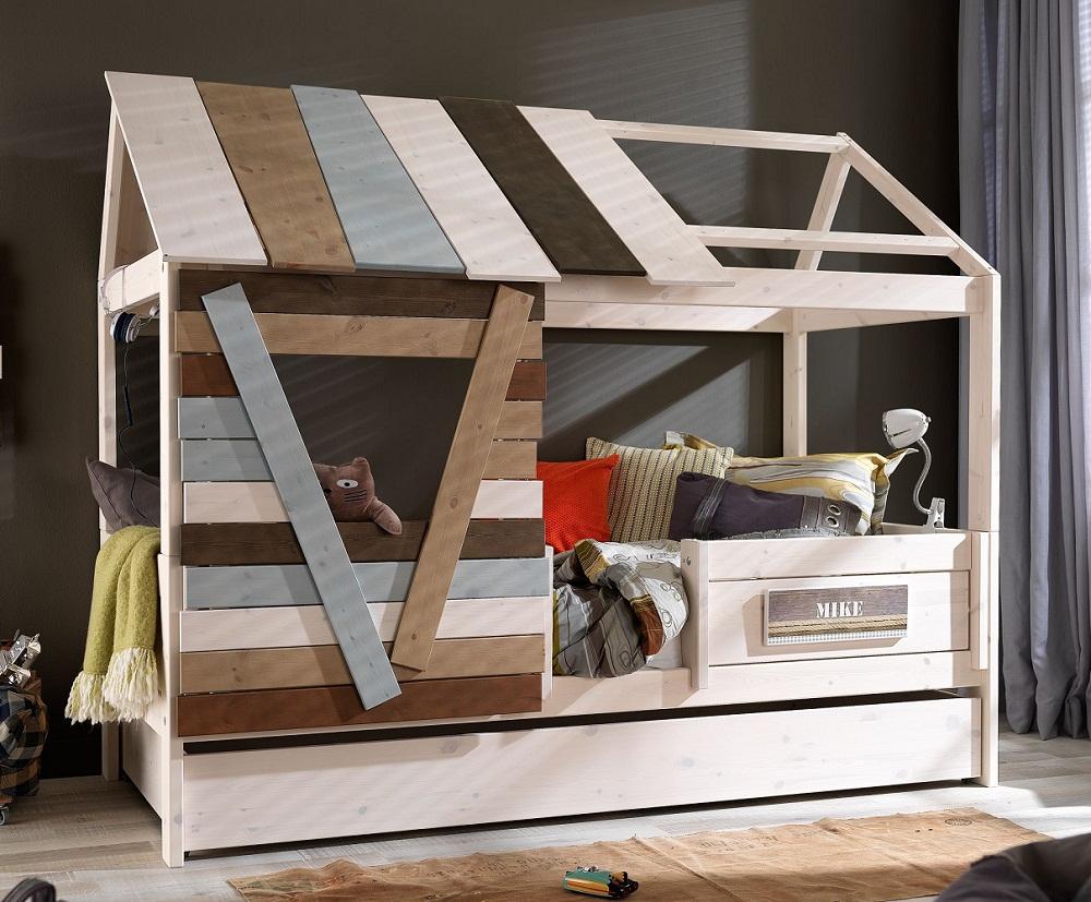 Scaletta In Legno Ikea : Letto casa sullalbero letto legno treehouse da bambini