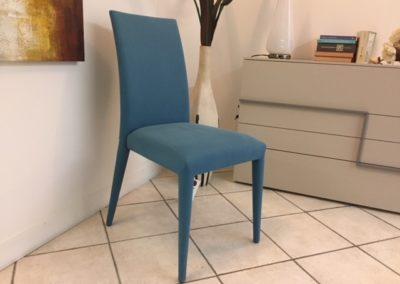 Sedia Anais Tessuto Blu - € 120,00