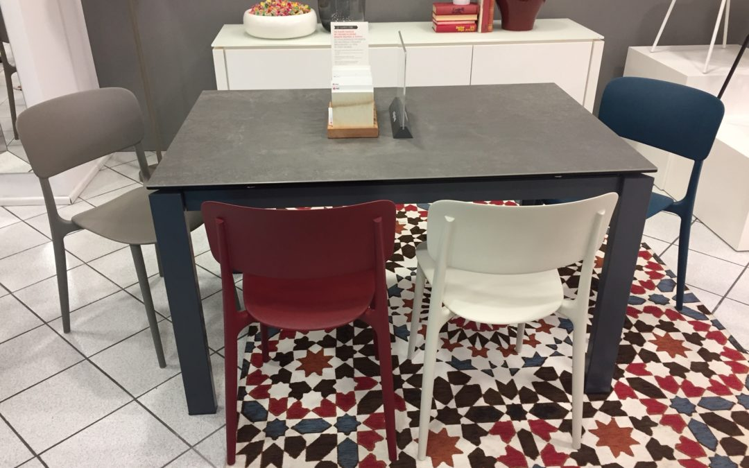 Promozione Calligaris tavolo e 4 sedie scontate al 50% su tutto il catalogo