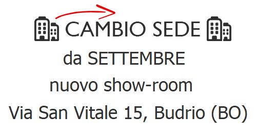 Mobili Bolognini, cambio sede: da Settembre a Budrio!