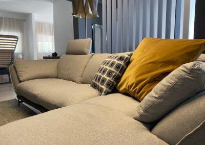 Giada divano tessuto Egoitaliano